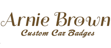 Arnie Brown's Custom Made Car Badges, Grill Badges, Car Emblems
